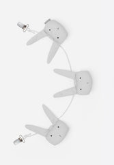 Holger Pram Chain Rabbit Dumbo Grey