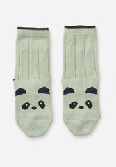 Silas Socks Panda Dusty Mint