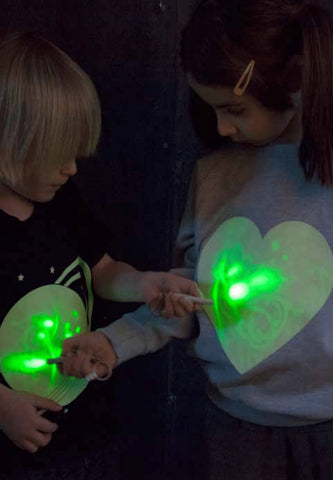 Solar System Glow In The Dark Interactive T-Shirt