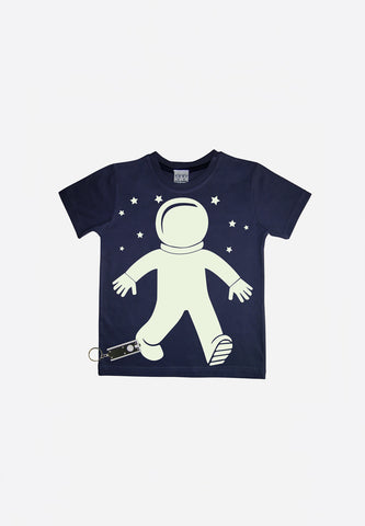 Spaceman Glow In The Dark Interactive T-Shirt
