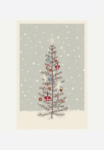 Christmas Tree Small Single Card