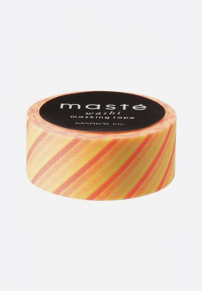 Washi Masking Tape Neon Light Yellow