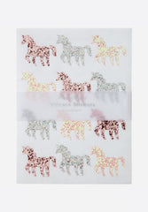 Glitter Unicorn Sticker Sheets