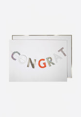 Congratulations Garland Card