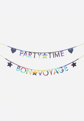 Holographic Letter Garland Kit