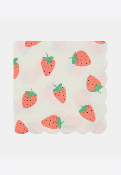 Small Strawberry Napkins