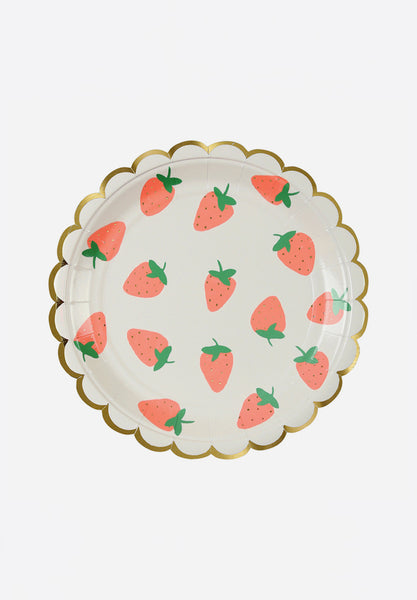 Small Strawberry Plates