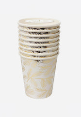 Gold Pine Party Cups