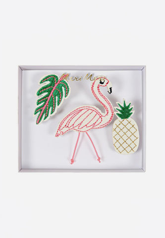 Tropical Brooches