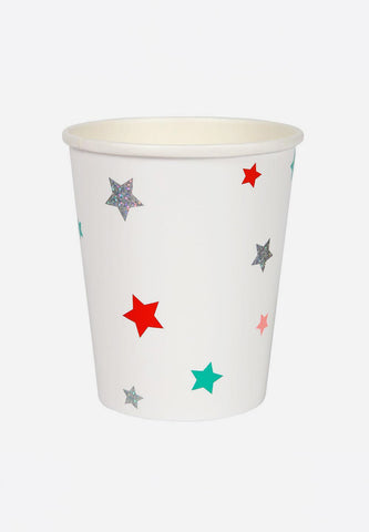 Festive Stars Party Cups