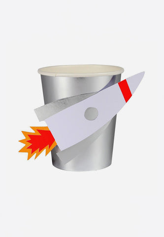 To The Moon Rocket Cups