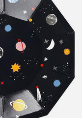 To The Moon Plates Small
