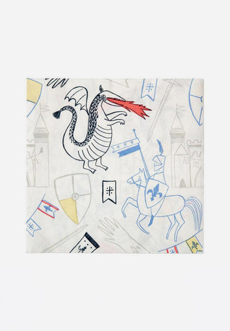 Dragon Knights Large Napkins