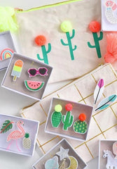 Summertime Brooches