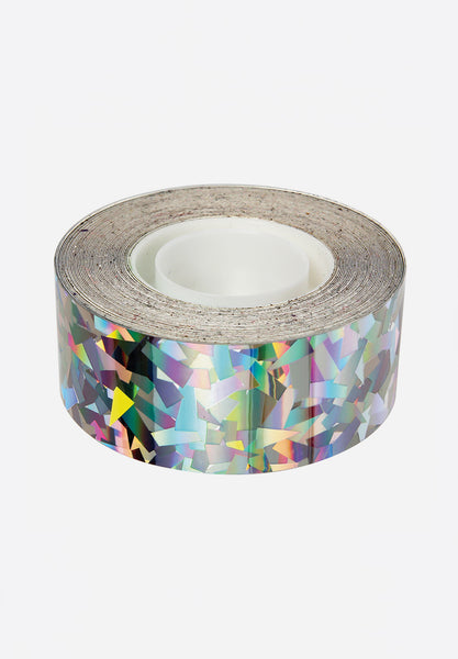 Sparkly Silver Mylar Tape