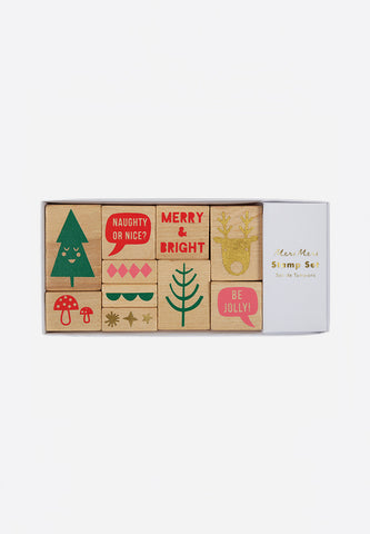 Jolly Christmas Stamp Set