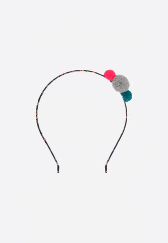 Hairband Mini Pompom Alice