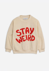 Stay Weird SP Terry Sweatshirt Offwhite
