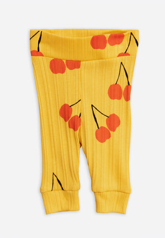 Cherry NB Leggings Yellow