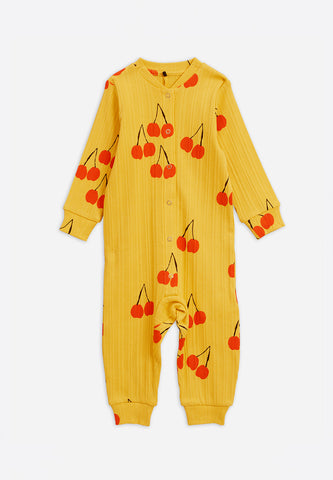 Cherry Jumpsuit Yellow