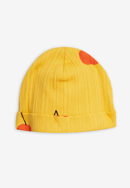 Cherry Baby Beanie Yellow