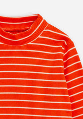Stripe Rib Turtleneck Body