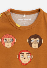Monkeys AOP SS Body