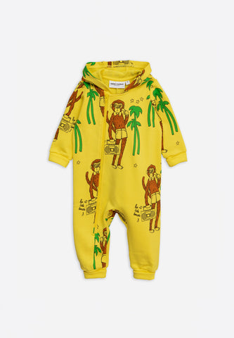 Cool Monkey Hooded Onesie