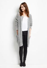 Vogue Mohair Long Cardigan