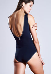 Purebody Shine Black-Navy