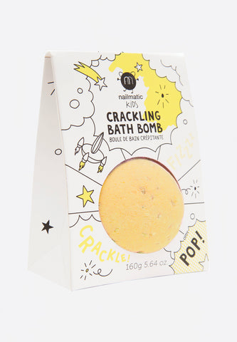 Crackling Bath Bomb Yellow Pop
