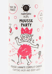 Mousse Party Hair & Body Foam Strawberry
