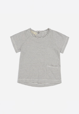 Raw-Edged Tee Stripe