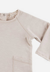 Raw-Edged Sweater