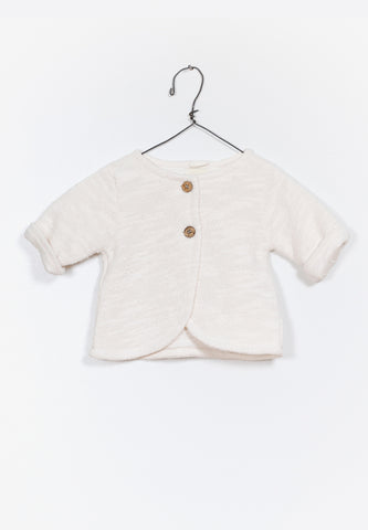 Baby Fleece Jacket Natural