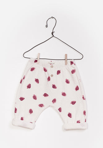 Baby Printed Terry Trousers