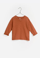 Fleece Sweater Brick
