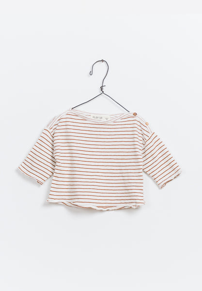 LS Striped Jersey T-Shirt Baby