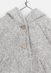 Fleece Jacket Light Grey Baby