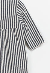 Striped Double Face Jumpsuit Baby