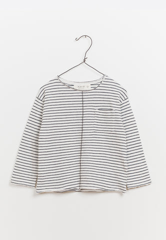 LS Striped Jersey T-Shirt Seam