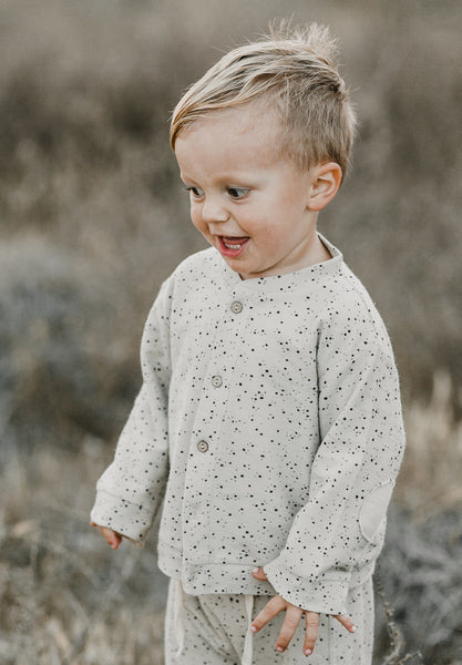 Baby Cardigan Scattered Stars