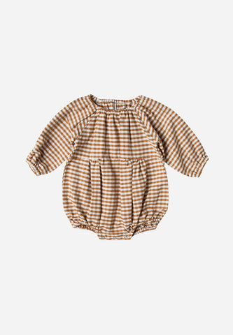 Bubble Romper Gingham