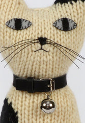 Hand Knitted Cat Max