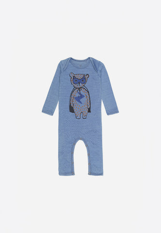 Ben Bodysuit Hero Denim Wash
