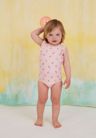 Swimsuit Baby Ana AOP Cockatoo Swim