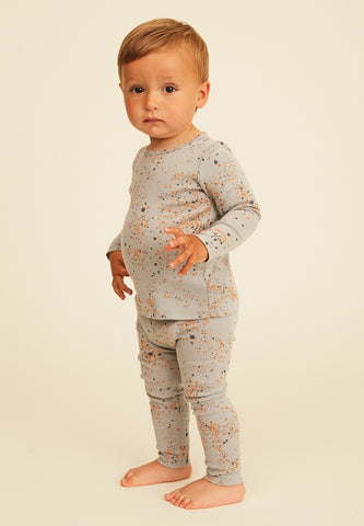 Leggings Baby Paula AOP Mini Splash Blue