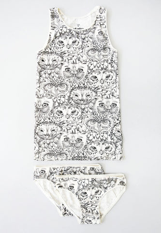 Juliette Underwear Owl Cream