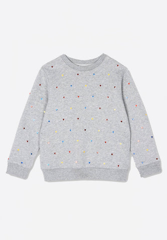 Multicolour Hearts Jumper