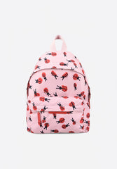 Ladybugs Print Backpack Pink